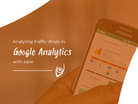 Analyzing traffic drops in Google Analytics with ease